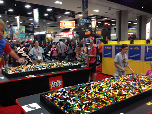 LEGO At San Diego Comic-Con 2014