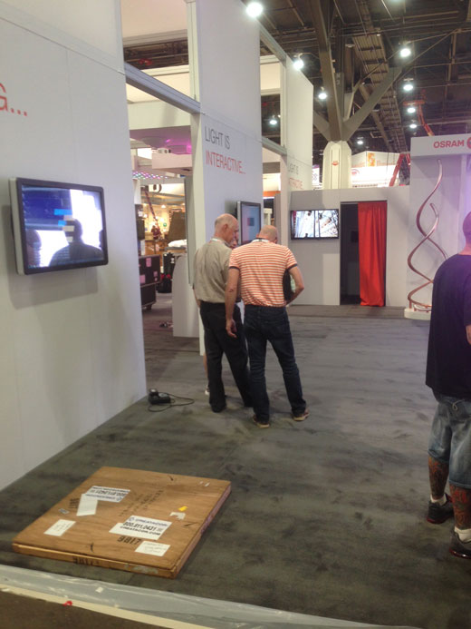 Will is at LIGHTFAIR International with OSRAM SYLVANIA