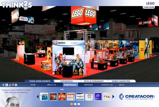 Creatacor redesigns website for 2012
